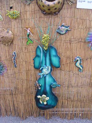 Palmfish Sculpture - Aquascape by Dan Townsend