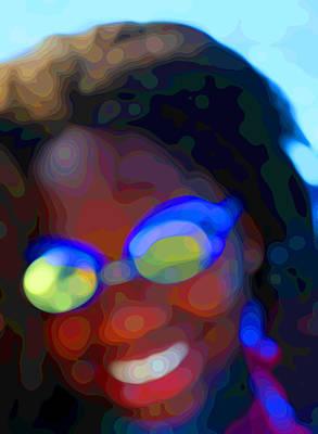 African-american Digital Art - Aquatic Abstract 2 by Geoff Strehlow