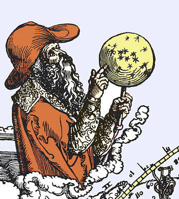 Aratus Cilis, Astronomer Print by Sheila Terry