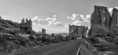 Monolith Digital Art - Arches National Park by Ellen Heaverlo