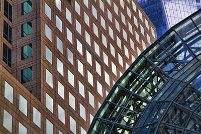 American City Scene Photograph - Architecture Building Patterns by David Smith