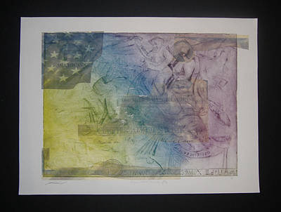 Financial Mixed Media - Arrogance Greed Incompetence Tarpfund by John  Schwind