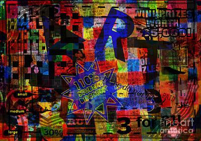 Art 5 Print by Andy  Mercer