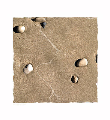 Art In The Sand Series 4 Print by Bob Salo