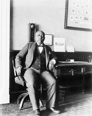 Arthur Simmons, African American White Print by Everett