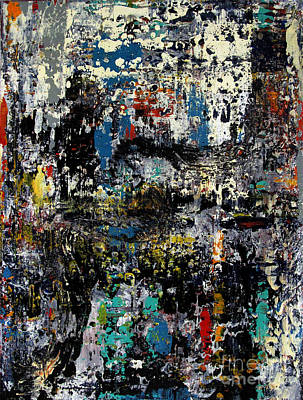 Artifacts Painting - Artifact 12 by Charlie Spear