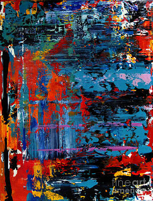 Artifact Painting - Artifact 17 by Charlie Spear