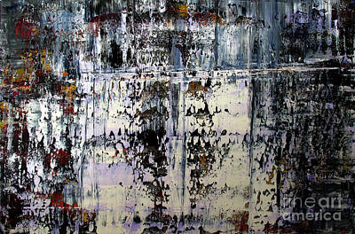 Artifact Painting - Artifact 6 by Charlie Spear