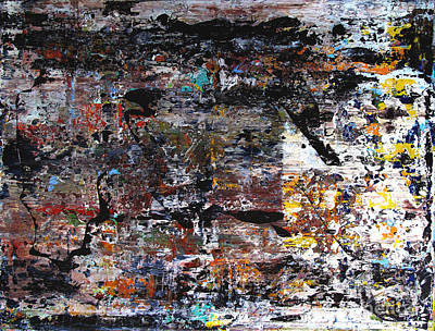 Artifact Painting - Artifact11 by Charlie Spear