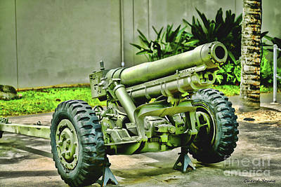 Artillery Print by Cheryl Young