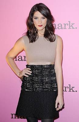 Ashley Greene Wearing A Giambattista Print by Everett
