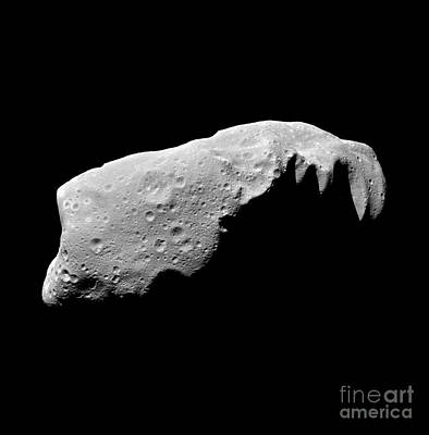 Planetoid Photograph - Asteroid 243 Ida by Stocktrek Images