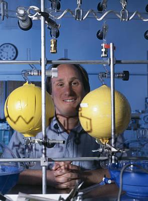 Astrochemistry Researcher Print by Volker Steger