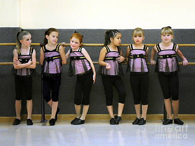 Pause Photograph - At The Barre by Jane Brack