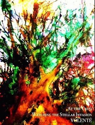 At The Tree Watching The Stellar Invasion Original by Gonzo Volente