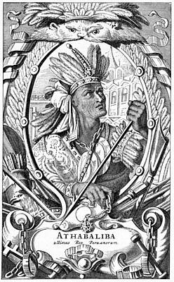 Atahualpa, The Last Incan Emperor Print by Cci Archives