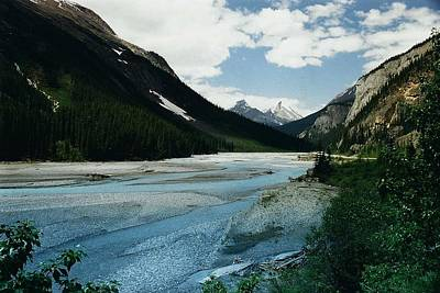 Athabasca River Print by Shirley Sirois