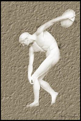 Athlete Print by Debra     Vatalaro