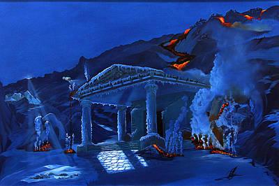 Atlantis Painting - Atlantis Found by Jacob Julian