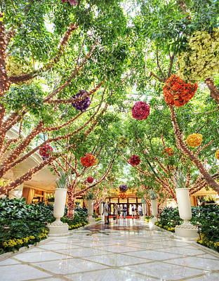 Atrium At The Wynn 2 Print by Jessica Velasco