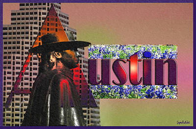 Austin City Limits Print by Stephen Paul West