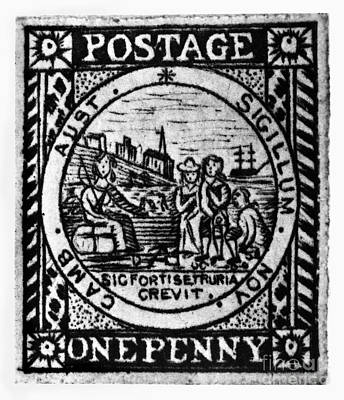 Jervis Photograph - Australia: Postage Stamp by Granger
