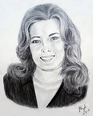 Washington D.c Drawing - Author Karna Small Bodman by Jim Fitzpatrick