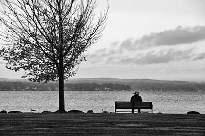 Joseph Duba Photograph - Autumn At Canandaigua Lake 2010 by Joseph Duba