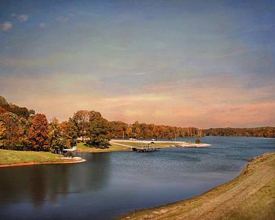 Autumn At Lake Graham 2 Print by Jai Johnson