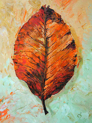 Autumn Colors Print by Chris Steinken