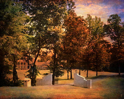 Autumn Gate Print by Jai Johnson