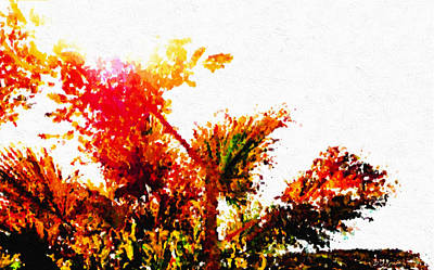 Autumn Impression Print by Brian D Meredith