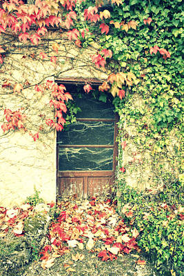 Abandoned House Photograph - Autumn In France by Georgia Fowler