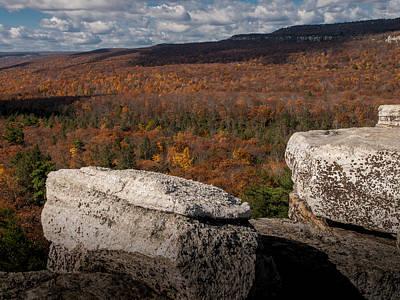 Shawanagunk Mountains Photograph - Autumn In The Gunks by Jim DeLillo