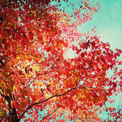 Autumn Print by Kim Fearheiley