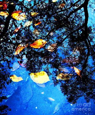 Autumn Reflection Print by Yury Bashkin