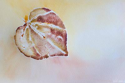 Autumn Shimmer Print by Heidi Smith