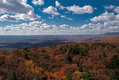 Shawanagunk Mountains Photograph - Autumn Vista by Jim DeLillo