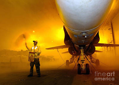 Aviation Boatswains Mate Waves Class Print by Stocktrek Images