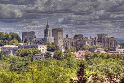 Languedoc Photograph - Avignon And The Palais Des Papes by Rod Jones