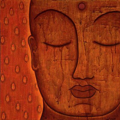 Tibetan Buddhism Mixed Media - Awakened Mind by Gloria Rothrock