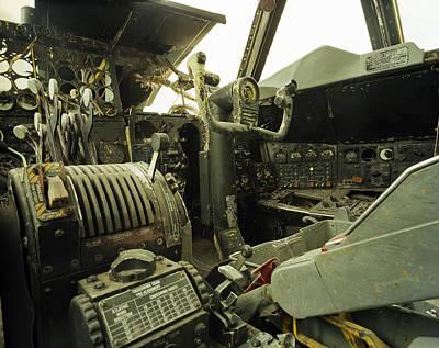 B-52 Cockpit Original by Jan Faul