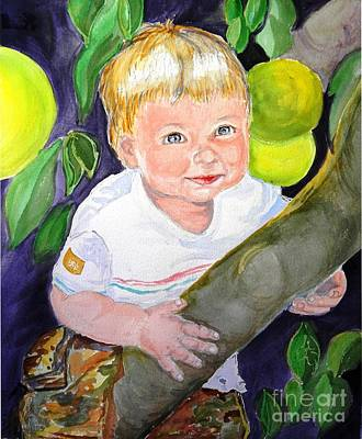 Baby In The Tree Original by Susan  Clark