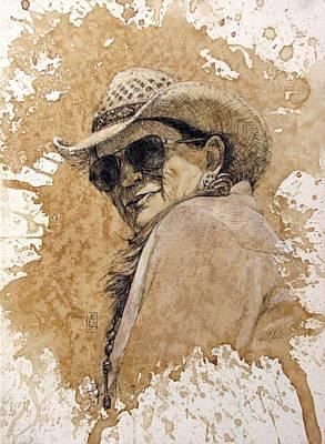 Cowgirl Mixed Media - Back At Ya by Debra Jones
