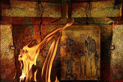 Back Bone #3 Print by Janet Kearns