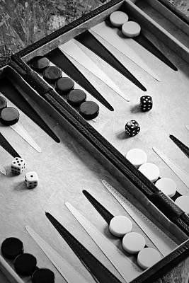 Backgammon Print by Joana Kruse
