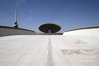 Baghdad, Iraq - The Ramp That Leads Print by Terry Moore