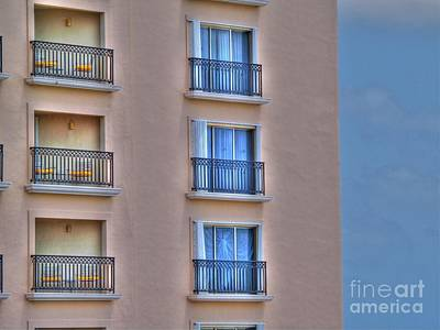 Balconies Print by Jimmy Ostgard