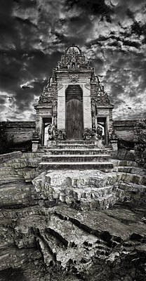 Surreal Photograph - Balinese Temple by Andy Frasheski