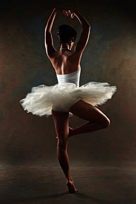 Ballerina Print by Tonino Guzzo